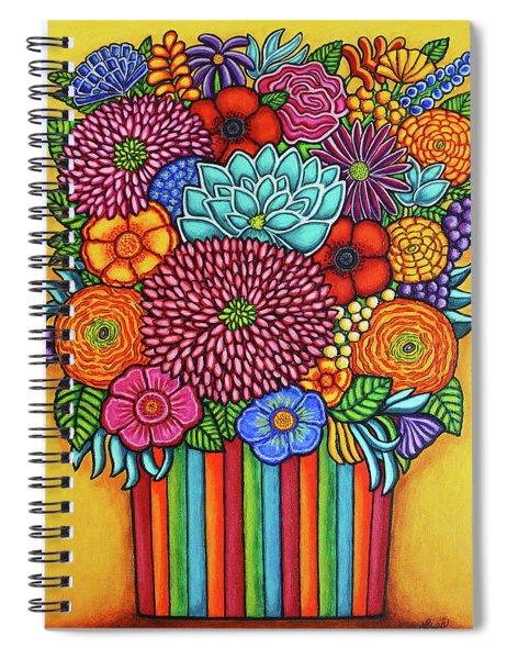 Celebration Bouquet Spiral Notebook