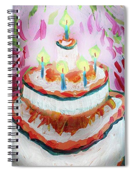 Celebration Cake Spiral Notebook