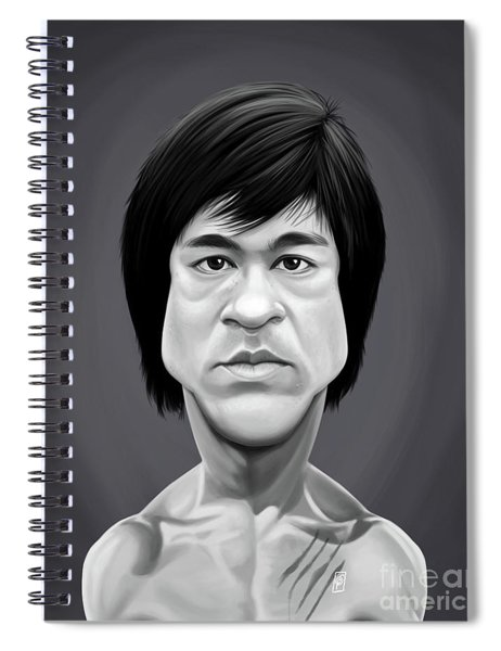 Celebrity Sunday - Bruce Lee Spiral Notebook