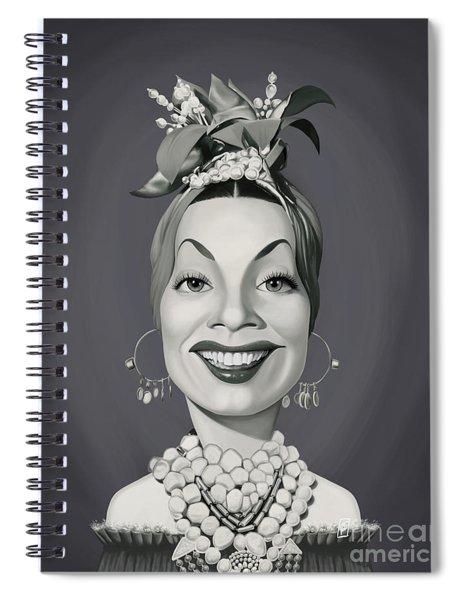 Celebrity Sunday - Carmen Miranda Spiral Notebook
