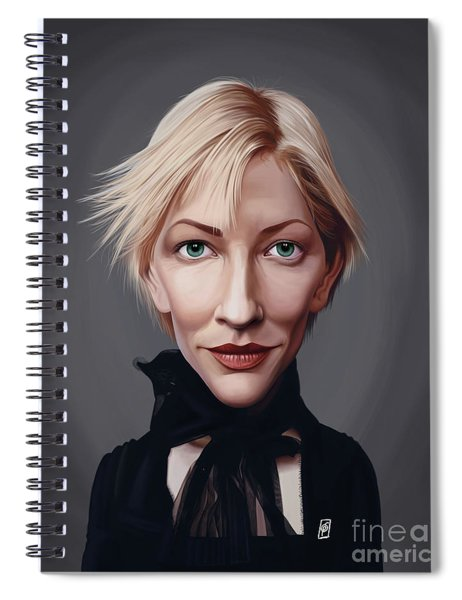 Celebrity Sunday - Cate Blanchett Spiral Notebook