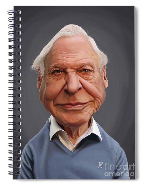 Celebrity Sunday - David Attenborough Spiral Notebook