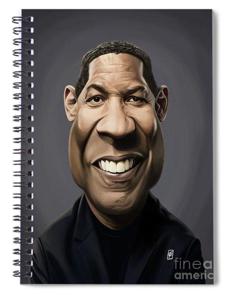 Celebrity Sunday - Denzel Washington Spiral Notebook