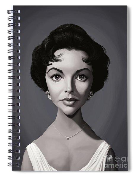 Celebrity Sunday - Elizabeth Taylor Spiral Notebook