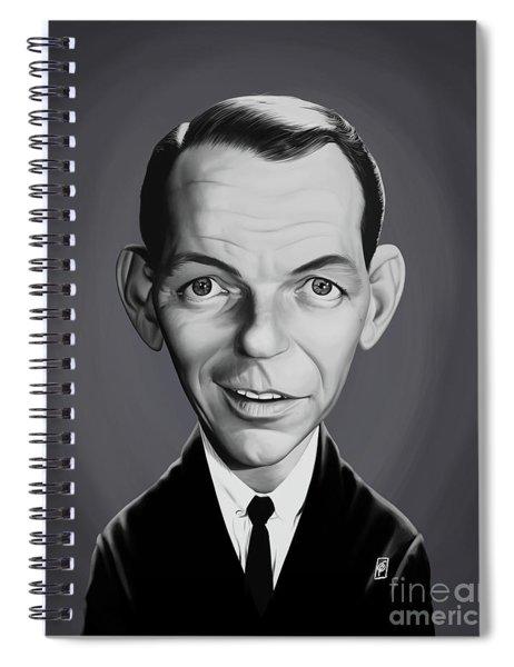 Celebrity Sunday - Frank Sinatra Spiral Notebook