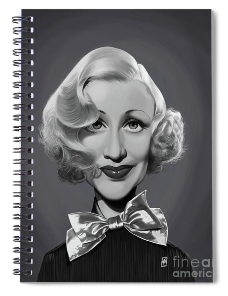 Celebrity Sunday - Ginger Rogers Spiral Notebook