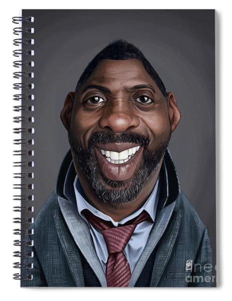 Celebrity Sunday - Idris Elba Spiral Notebook