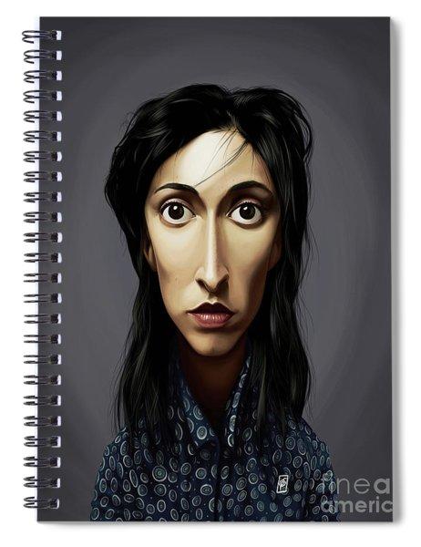 Celebrity Sunday - Oona Chaplin Spiral Notebook
