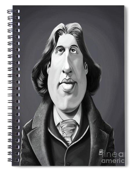 Celebrity Sunday - Oscar Wilde Spiral Notebook