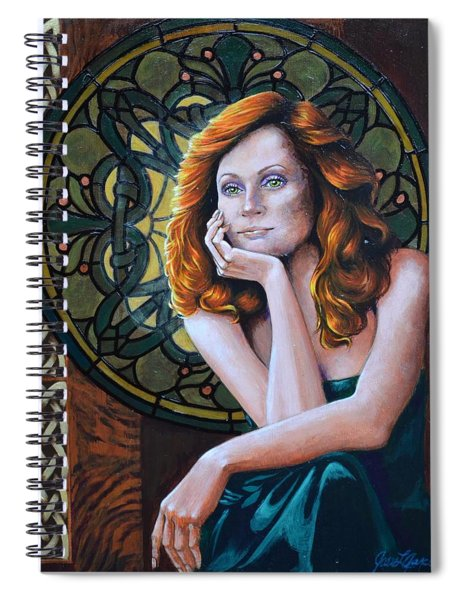 Celtic Dream Spiral Notebook