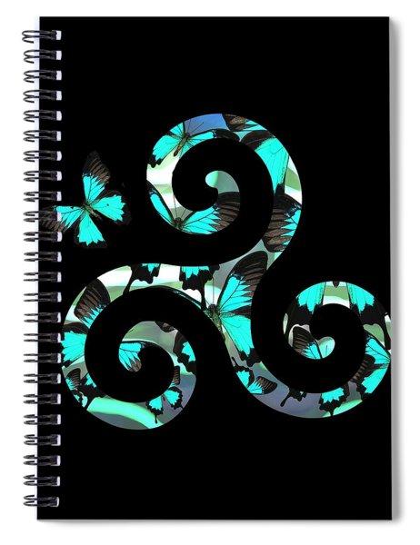 Celtic Spiral 3 Spiral Notebook