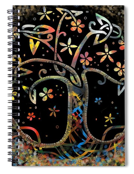 Celtic Tree Of Life Spiral Notebook