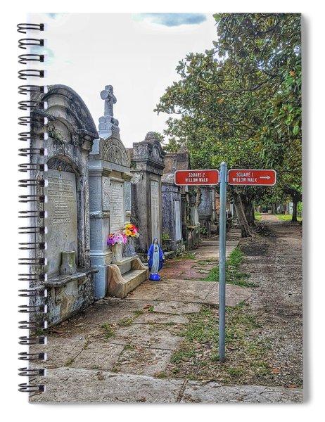 Cemetery #1 Spiral Notebook