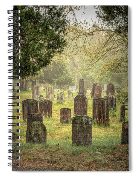 Cemetery In The Pines Spiral Notebook