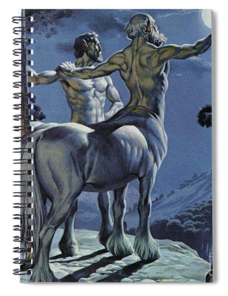 Centaurs Spiral Notebook