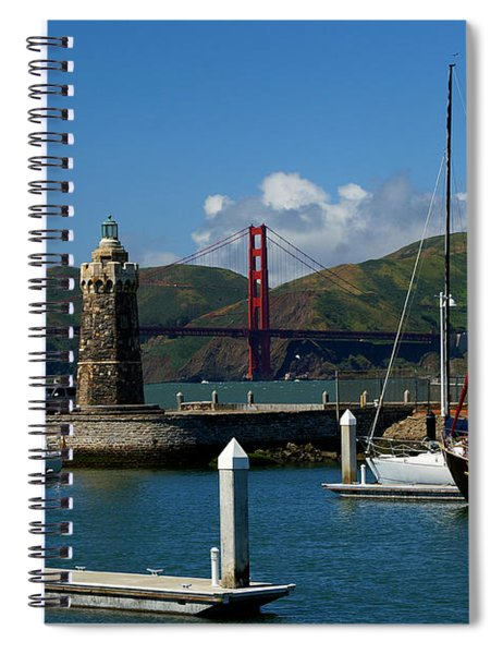 Center Piece Spiral Notebook