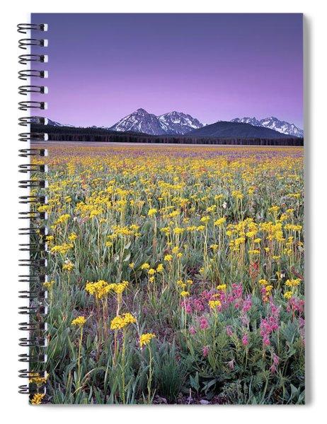 Central Idaho Color Spiral Notebook