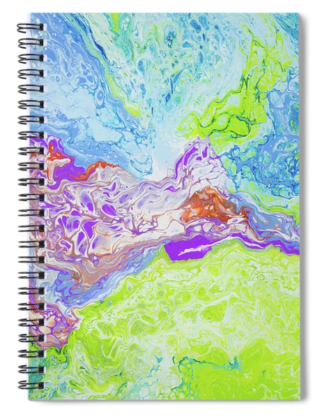 Spiral Notebook featuring the painting Central Maui by Lisa Smith