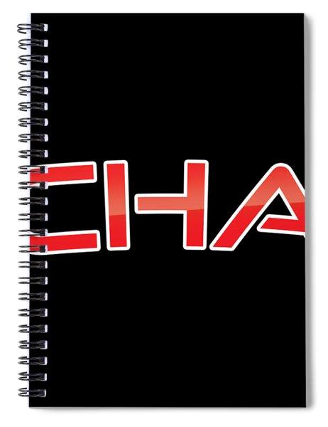 Cha Spiral Notebook