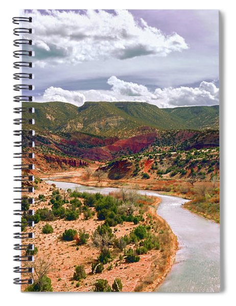Chama River, Mid Afternoon Spiral Notebook