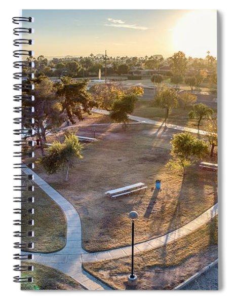 Chaparral Park Spiral Notebook