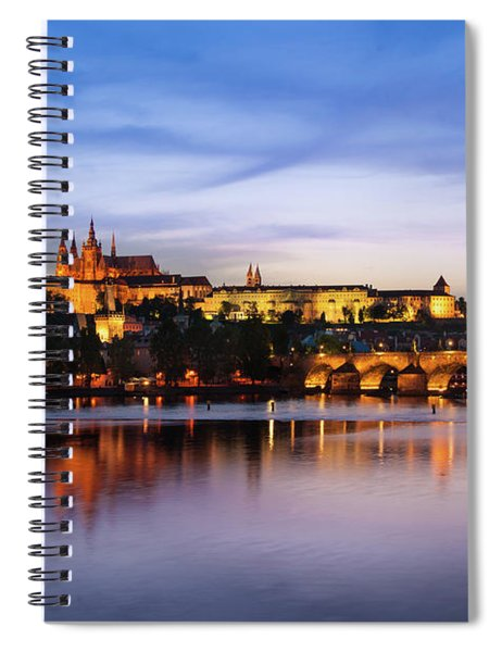Charles Bridge Spiral Notebook