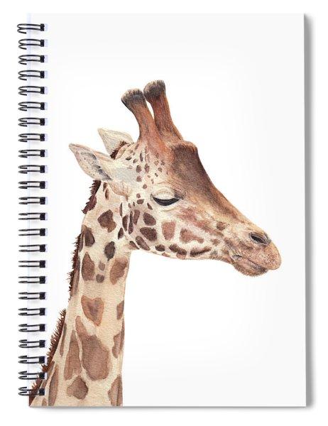 Charlie The Giraffe Spiral Notebook