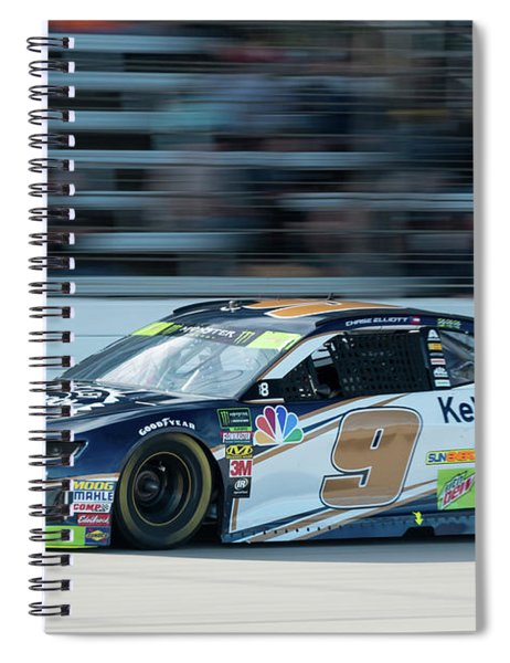 Chase Elliott #9 Spiral Notebook