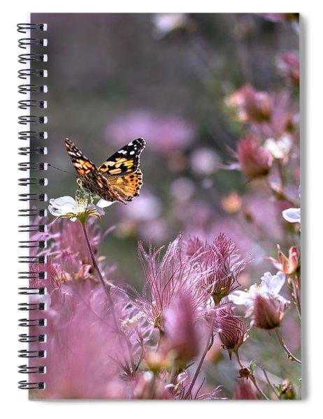 Chasing Butterflies Spiral Notebook