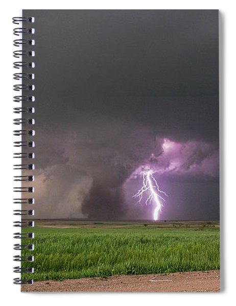 Spiral Notebook featuring the photograph Chasing Naders In Nebraska 017 by Dale Kaminski