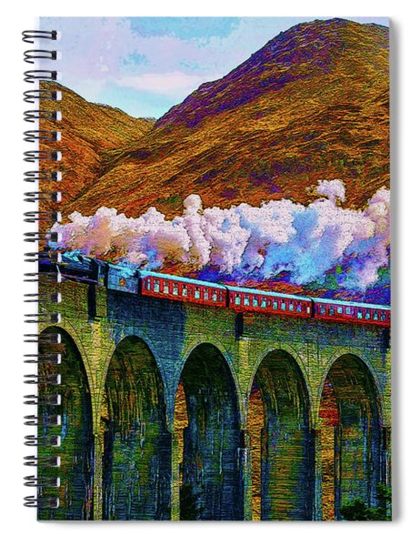 Chasing The Trestle Spiral Notebook