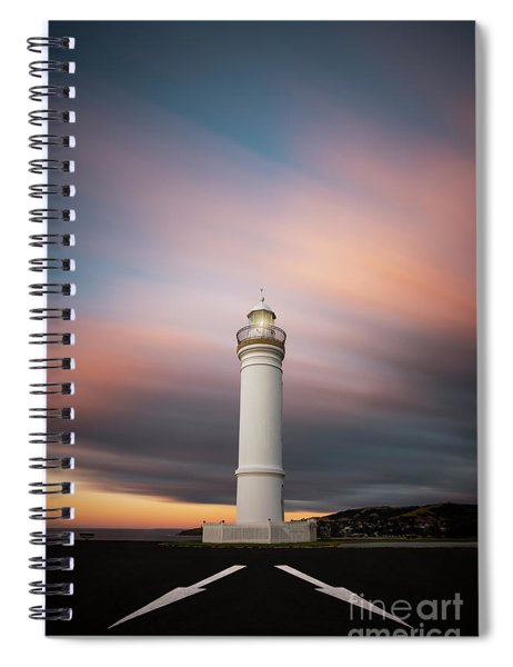 Chasing Twilight Spiral Notebook