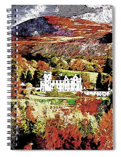 Chateau Life Spiral Notebook