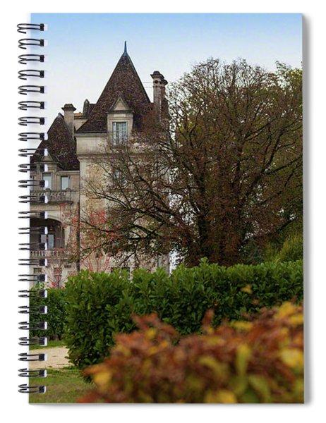 Chateau, Near Beynac, France Spiral Notebook