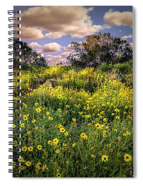 Chatsworth Wildflower Bloom Spiral Notebook