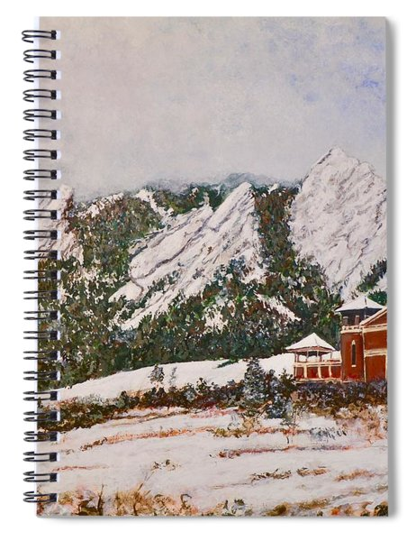 Chautauqua - Winter, Late Afternoon Spiral Notebook