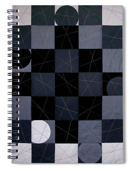 Checkers And Pick-up-sticks Spiral Notebook