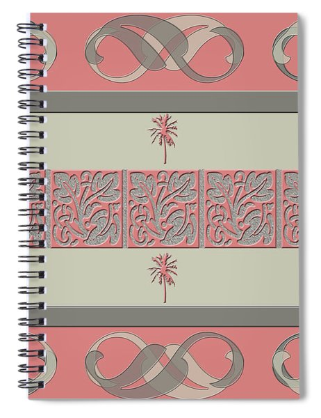 Cheery Coral Pink Spiral Notebook