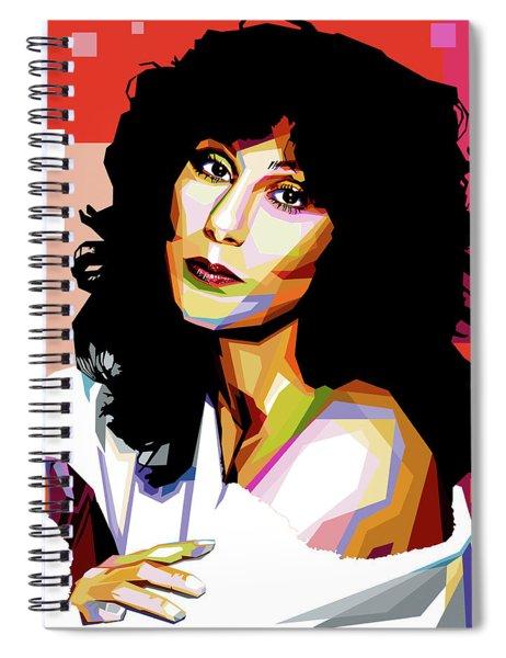 Cher Spiral Notebook