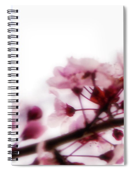 Cherry Triptych Left Panel Spiral Notebook