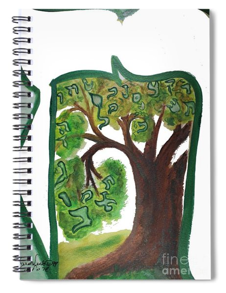 Chet, Tree Of Life  Ab21 Spiral Notebook