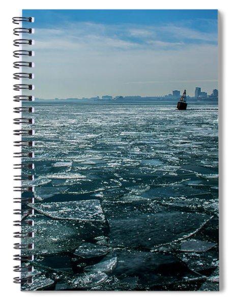 Chicago From Navy Pier 2 Spiral Notebook