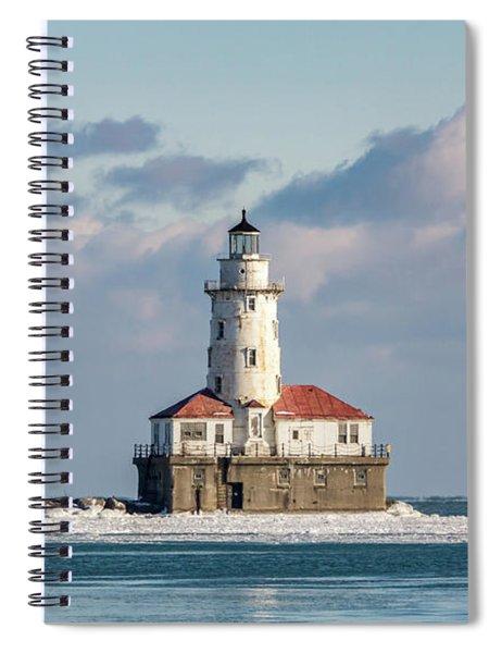 Chicago Harbour Light Spiral Notebook