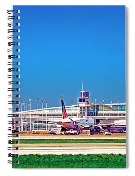 Chicago, International, Terminal Spiral Notebook