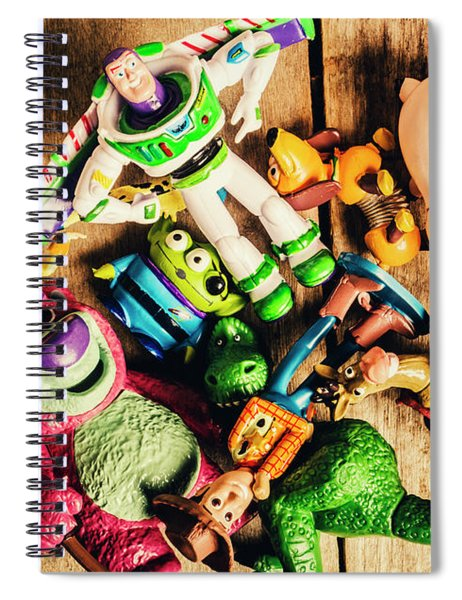 Childhood Collectibles Spiral Notebook