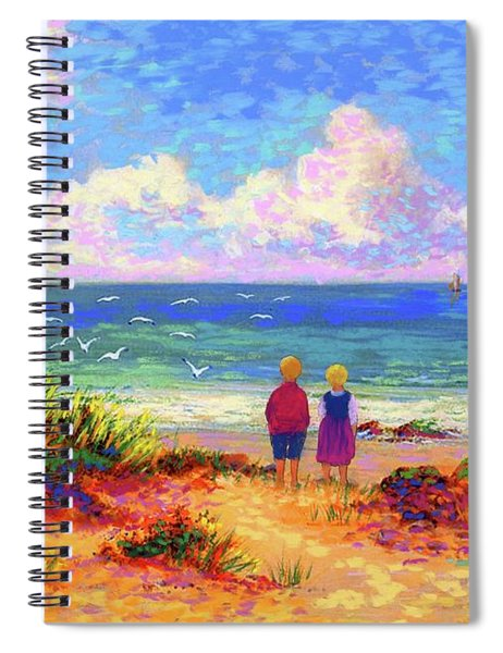 Children Of The Sea Spiral Notebook