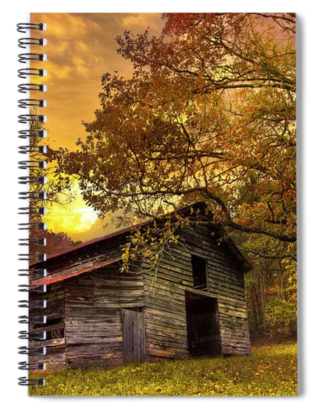 Chill Of An Early Fall Spiral Notebook