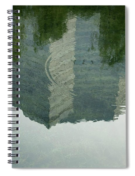 China Reflection  Spiral Notebook