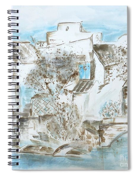 Chinese Water Town Spiral Notebook