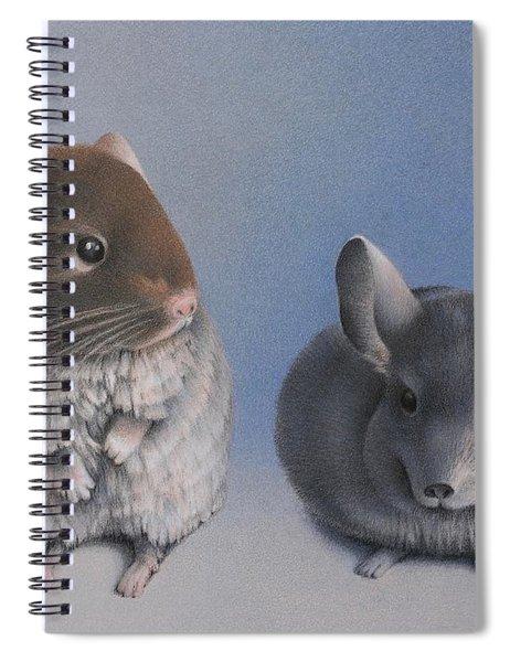 Chins Up Spiral Notebook